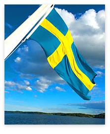 SwedishFlagDescending